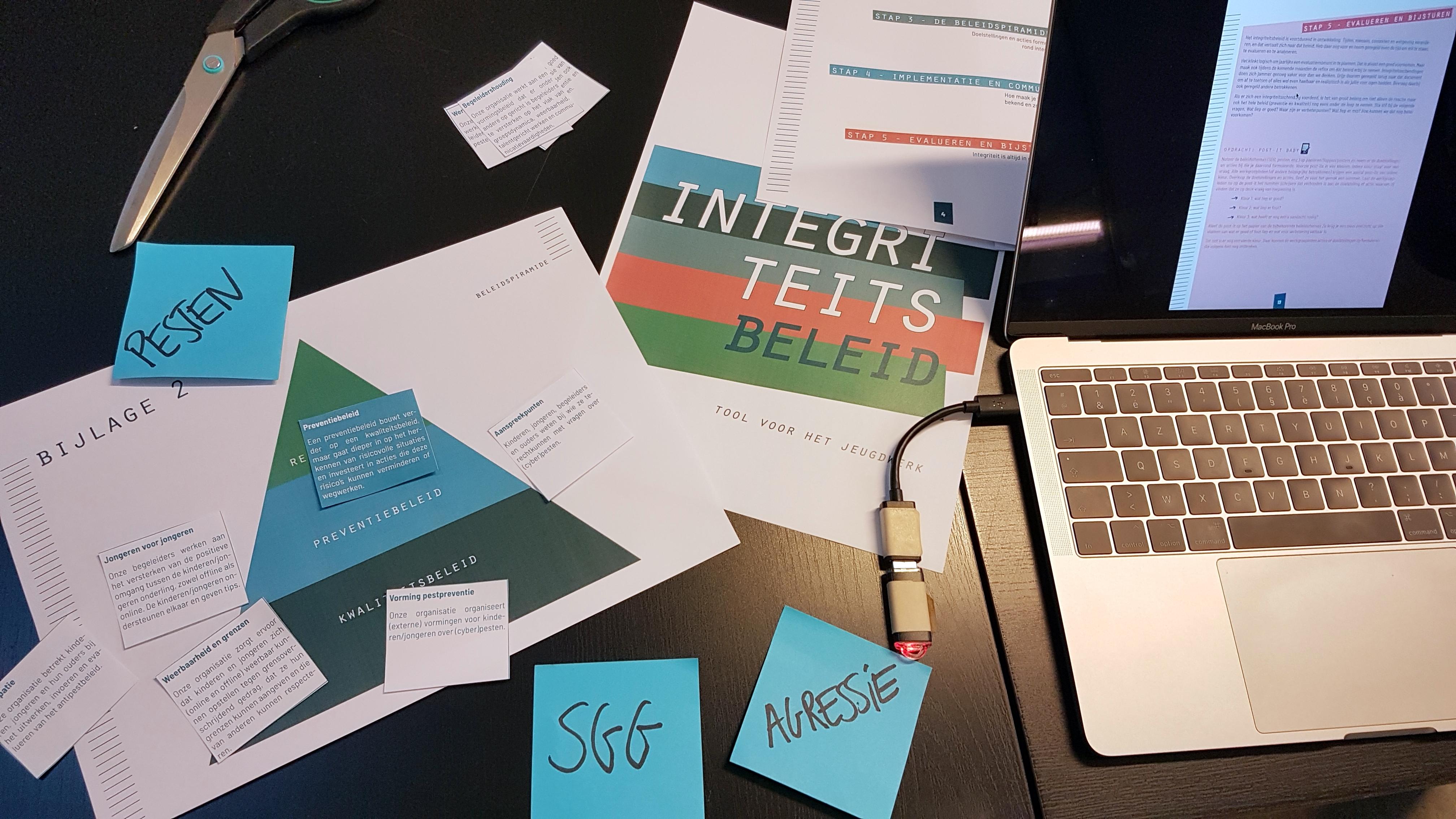 Integriteitsbeleid jeugdwerk leidraad gratis tool